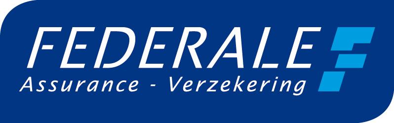 Federale Assurance Verzekerind logo blue background