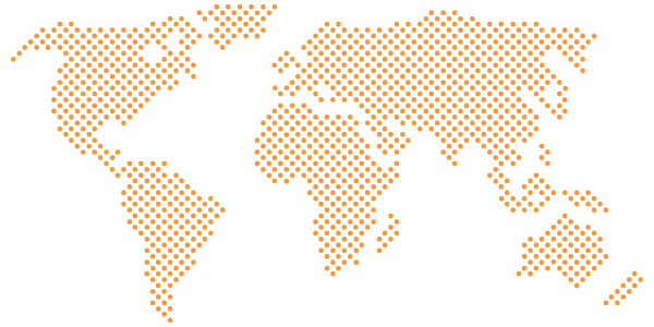 Pixel map orange point