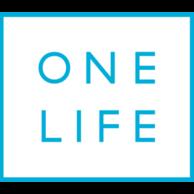 One-life logo Square blue