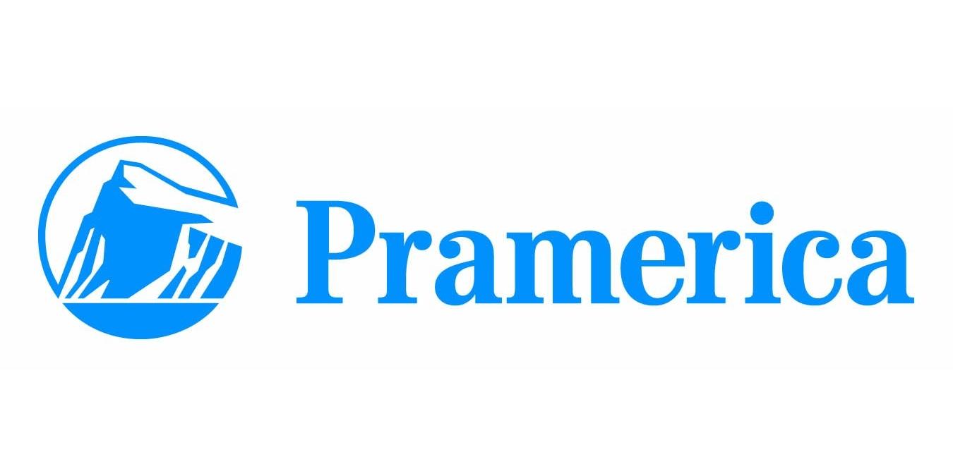 Pramerica logo blue