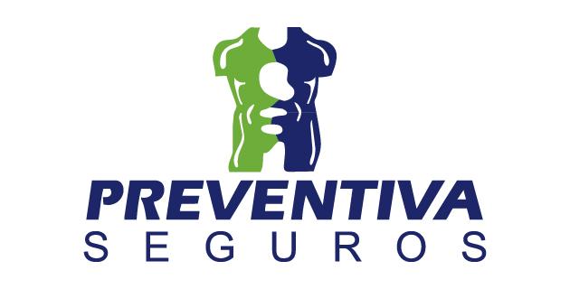 Preventiva Seguros Logo blue & green