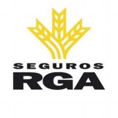 RGA Seguros Logo yellow