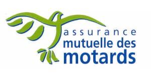 Assurance Mutuelle des Motards logo green bird