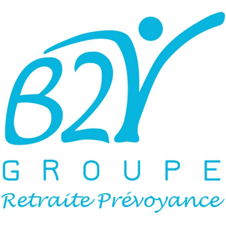 B2V Groupe Logo Retraire Prévoyance Blue