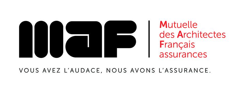 MAF Logo Mutuelle Architectes Français Assurances Vous avez l'audace nous avons l'assurance