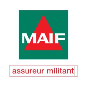 MAIF logo Assureur Militant