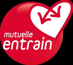 Mutuelle Entrain logo red circle