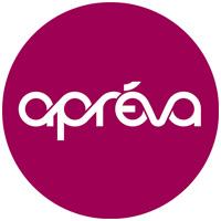 Mutuelle Apreva logo purple circle