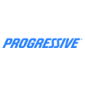 Progressive logo on white round