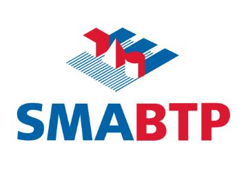 SMABTP logo on white square