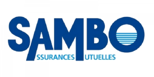 Sambo logo on white square Assurances Mutuelles