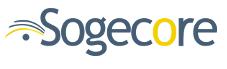 Sogecore logo on white square